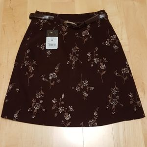 Dresses & Skirts - 2 for $16 - Maroon Floral Skirt